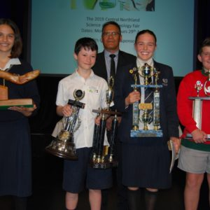 2018 Major Award winners including winner of George Tuwhai Memorial Award